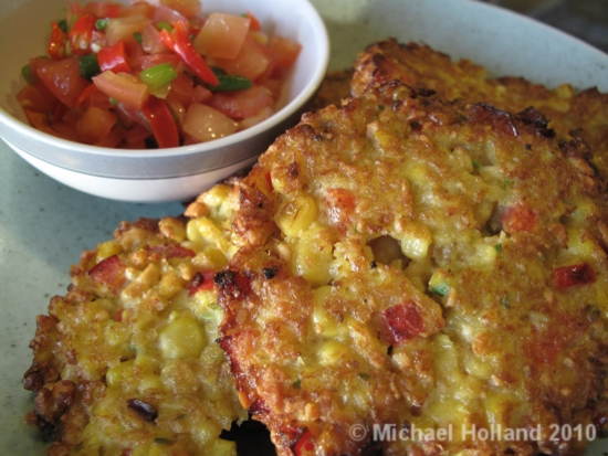 Nutty Corn Cakes