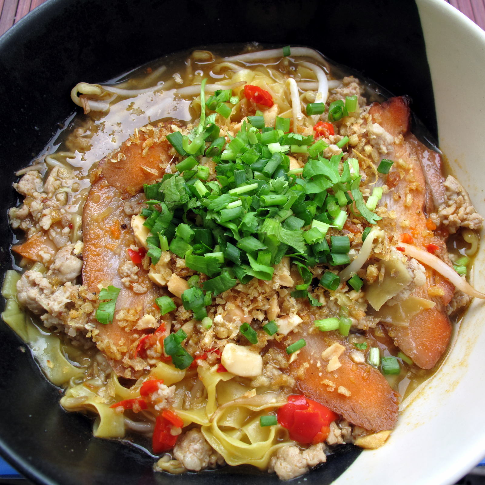 Spicy Tom Yum Noodles